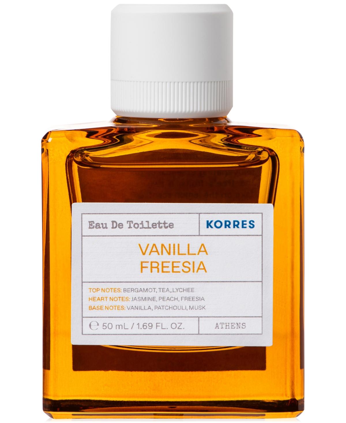 Korres Vanilla Freesia Eau de Toilette, 1.69-oz.