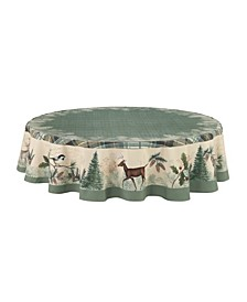 Woodland Forest Table Cloth 70 Round