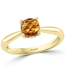 EFFY® Citrine Solitaire Ring (3/4 ct. t.w.) in 14k Gold