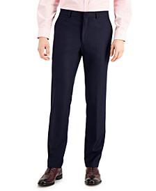 Men's Techni-Cole Suit Separate Slim-Fit Pants