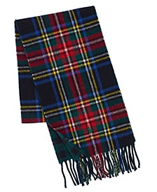 Men's Reversible Scottish Tartan Scarf