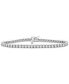 Diamond Tennis Bracelet (2 ct. t.w.) in 14k White Gold