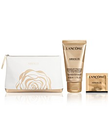 Receive a Limited-Edition Absolue Cosmetics Bag, Absolue Deluxe Cleanser Oil-in-Gel 50ml, Absolue Bi-Ampoule Packette 1ml with Absolue purchase of $200 or more!