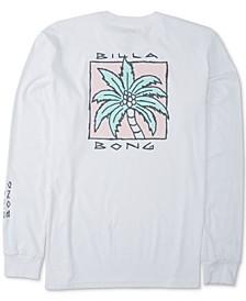 Men's King Palm Long-Sleeve Cotton T-Shirt
