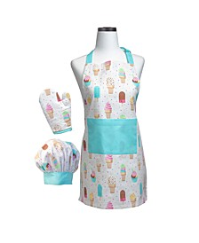 Ice Cream Parlor Deluxe Child Apron Boxed Set
