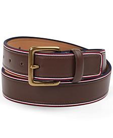 Men's Striped Belt
