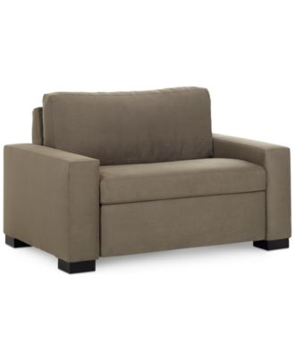 """Alaina Sofa Bed Twin Sleeper 56""""W x 40""""D x 35""""H Furniture Macy s"""