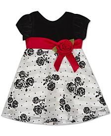 Baby Girls Flocked Dress