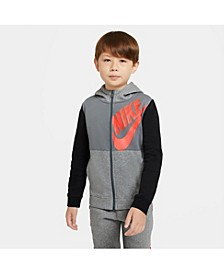 Big Boys Sportswear Full-Zip Hoodie