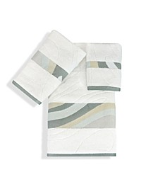 Shell Rummel Sand Stone Bath 3 Piece Towel Set