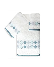 Shell Rummel Sea Glass Bath 3 Piece Towel Set