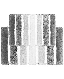 Veronica 2-Pc. Stripe Bath Rug Set