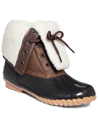 Sporto Women's Daphne Faux-Fur Cold Weather Booties