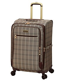 """Brentwood II 25"""" Expandable Spinner Luggage"""