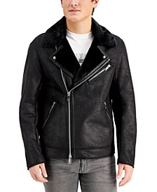 Men's Fleece Collar Jacket