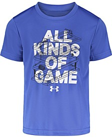 Toddler Boys All Kinds Of Game Short Sleeves T-shirt