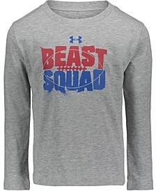 Little Boys Beast Squad Long Sleeves T-shirt