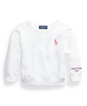 Polo Ralph Lauren Sweatshirts LITTLE GIRLS PINK PONY FLEECE SWEATSHIRT