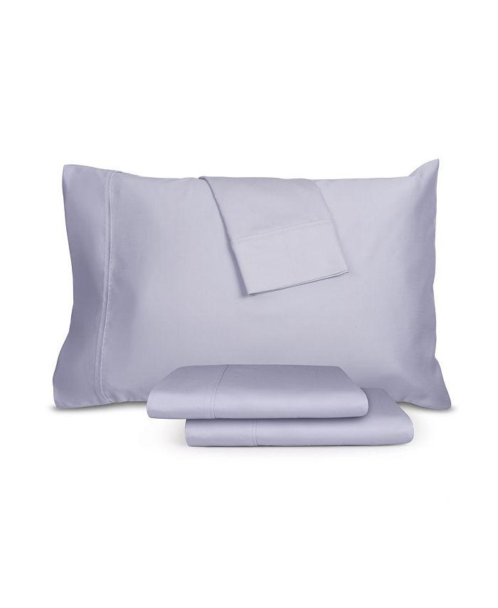4-Pieces AQ Textiles RestWell Antimicrobial Queen Sheet Set