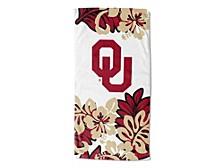 "Oklahoma Sooners 30x60 ""Flower Power"" Beach Towel"