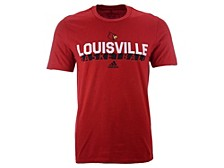 Louisville Cardinals Men's On Court Amplifier T-Shirt