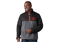 San Francisco Giants Men's Advance Half-Zip Pullover