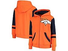 Denver Broncos Big Boys Stadium Full-Zip Hoodie