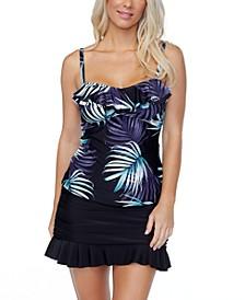 Tahiti Bandini Tankini Top & Ruffled Swim Skirt, Created for Macy's
