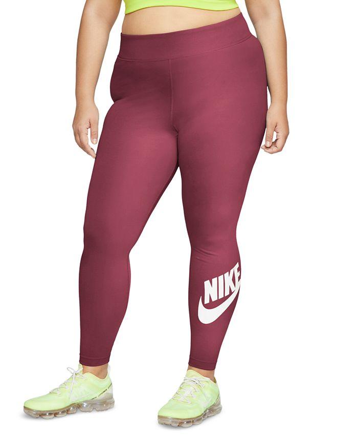 Nike - Plus Size Sportswear Leg-A-See High-Rise Leggings