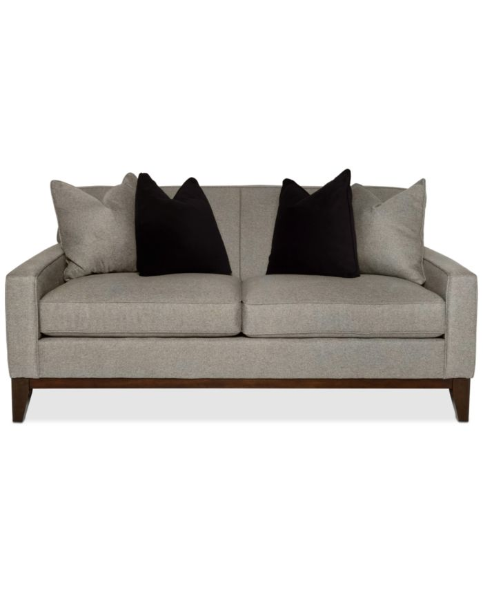 """Furniture Effie 73"""" Apartment Fabric Sofa, Created for Macy's & Reviews - Furniture - Macy's"""
