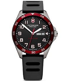FieldForce Titanium Black Rubber Strap Watch 42mm - A Limited Edition