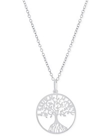 "Tree 18"" Pendant Necklace, Created for Macy's"