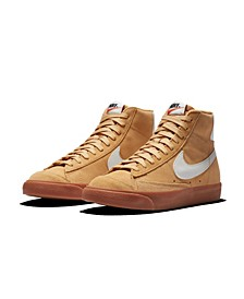 Women's Blazer Mid 77's Suede High Top Casual Sneakers from Finish Line