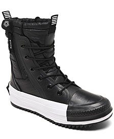 Women's Water Repellent Chuck Taylor All Star MC High Top Sneaker Boots from Finish Line