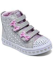 Toddler Girls Twinkle Toes Twi-Lites - Heather and Shine Casual Sneakers from Finish Line
