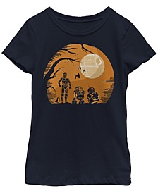 Big Girls Star Wars - Episode 8 Droids Haunt Short Sleeve T-shirt