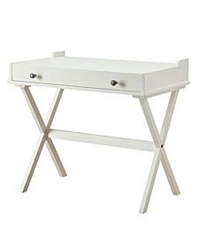 Liza Flip Top Cork Board Desk