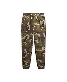 Big Boys Camo Fleece Jogger Pant