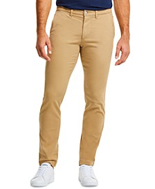 Men's Slim Fit Stretch Gabardine Classic Chino Pants