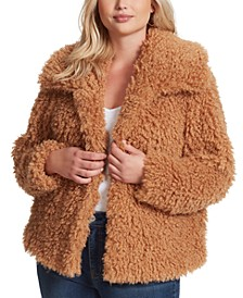 Trendy Plus Size Sasha Faux-Fur Jacket