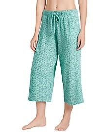 Cooling Comfort Pajama Capri Pants