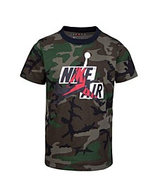 Toddler Boys Jumpman Classics Camo Printed Logo T-Shirt