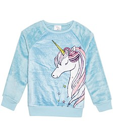 Girls Winter Unicorn Woobie