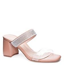 Yas Women's Block Heel Mules