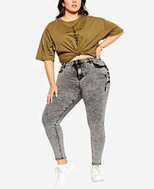 Women's Trendy Plus Size Harley Chill Out Jean