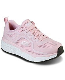 Women's Work Relaxed Fit - Max Cushioning Elite Slip-Resistant - Banham Work Sneakers from Finish Line
