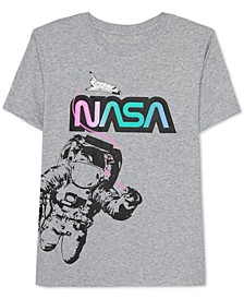 Juniors NASA Graphic Print T-Shirt