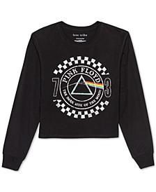 Juniors' Pink Floyd Long-Sleeved Graphic T-Shirt