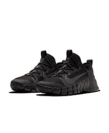 Men's Free Metcon 3 Training Sneakers from Finish Line