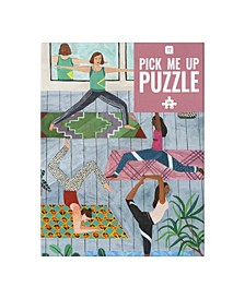 Pick Me Up Puzzle Yoga, 500 Piece